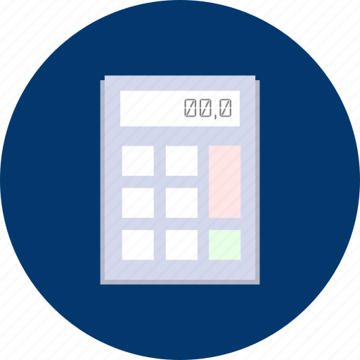 business, calculator, concept, design, technology icon