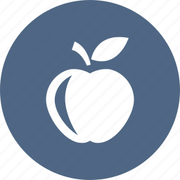 apple, food, fruit, healthy, teacher icon