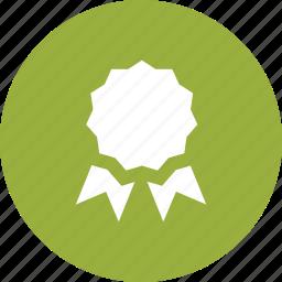 achievement, award, badge, certificate, recognition, reward, winner icon
