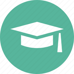 cap, college, graduation, hat, school, tassles, university icon