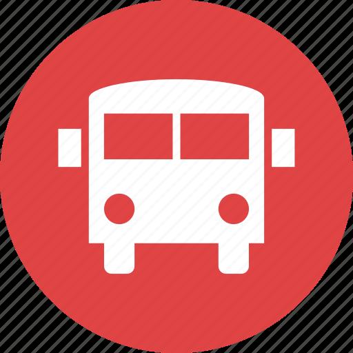 automobile, bus, school, transport, transportation, vehicle icon