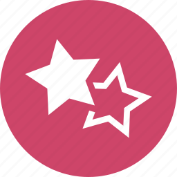 abstract, award, badges, earned, rating, stars, vote icon