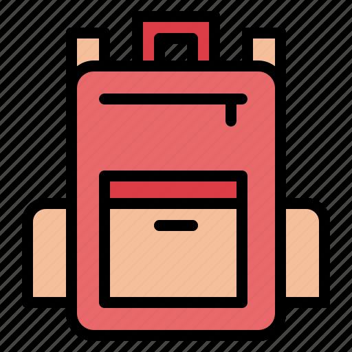 backpack, bag, luggage icon
