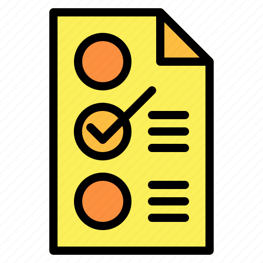 check, checklist, list icon