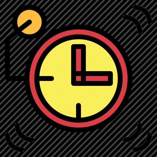 alarm clock, clock, time icon
