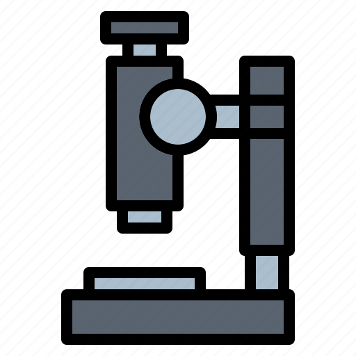 microscope, science icon