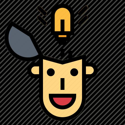 idea, think, thinking icon