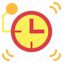 alarm, alarm clock, clock, time, timer icon