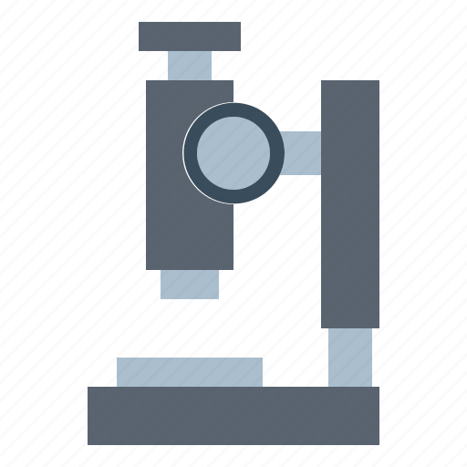 medical, microscope, science icon