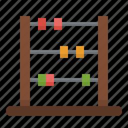 abacus, business, calculator, education, mathematical, mathematics, maths icon