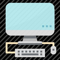 board, computer, key, monitor, mouse, screen icon