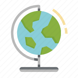 earth, geography, global, history, maps, planet, worldwide icon