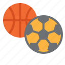 ball, basketball, football, race, school, soccer, sports icon