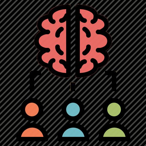 brainstorm, brainstorming, business, coworker, creativity, idea, think icon