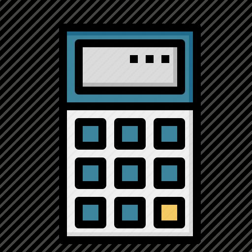 calculating, calculator, math, technological, technology icon