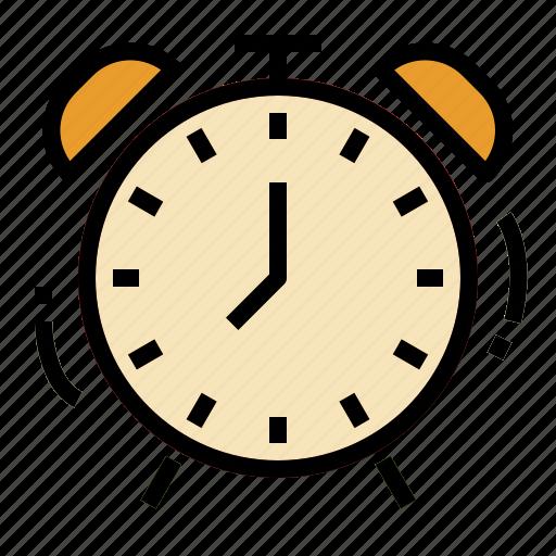 alarm, clock, time, timer icon