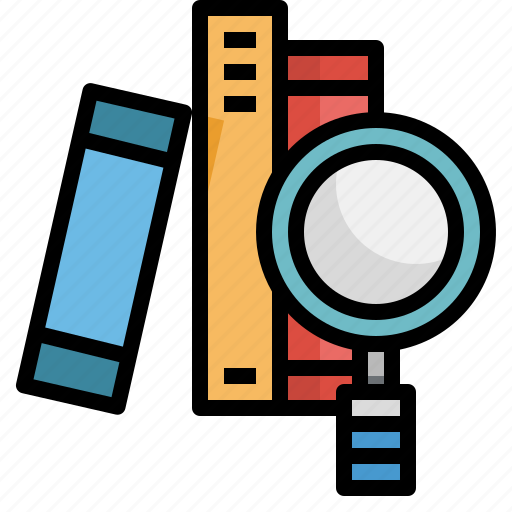 book, class, education, learning, libraly, reading, search icon