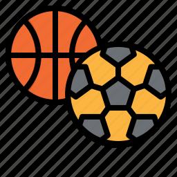 ball, basketball, football, race, school, soccer, sports icon