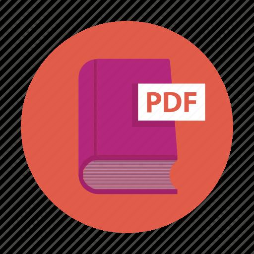 book, ebook, novel, pdf book, school book icon