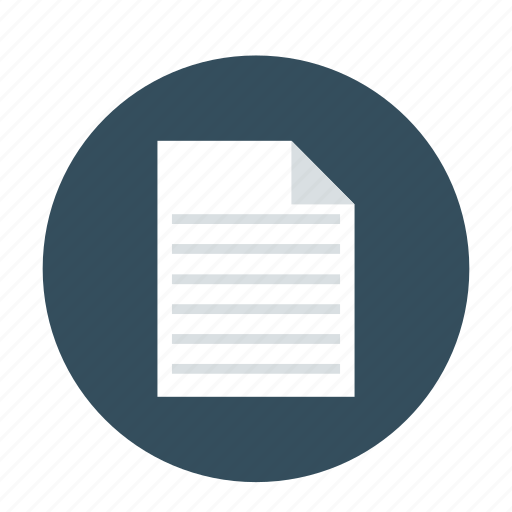 contract paper, document, paper, paper sheet, receipt icon