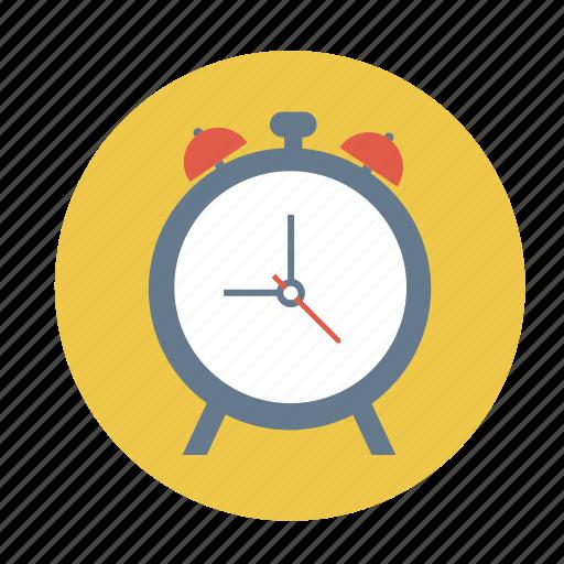 alarm clock, alarmer, table clock, table time piece, time piece icon