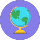 earth, geography, globe, map, word, world map icon