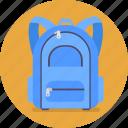 bag, school, school bag, student, study icon