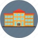 building, college, hostel, hotel, school, university icon