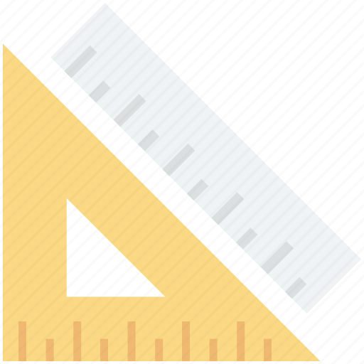 degree square, geometry, geometry tool, ruler, set square icon
