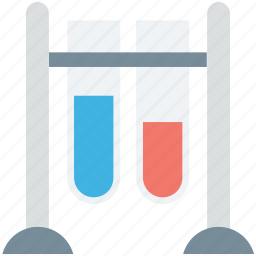 culture tubes, lab accessories, lab glassware, sample tubes, test tubes icon
