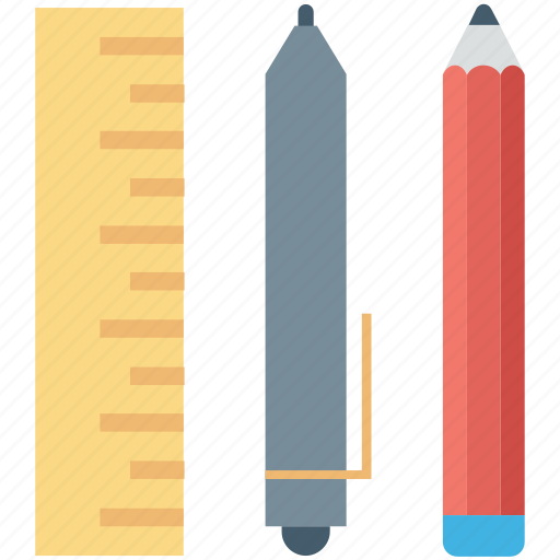 draft, draft tools, pen, pencils, stationery icon