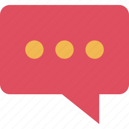 bubble, chat, education, learning, school, talk, text icon