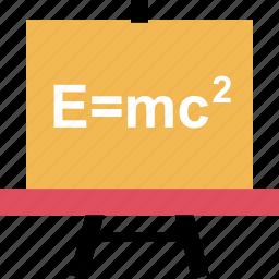 board, education, formula, learn, learning, school icon