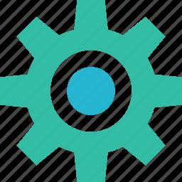 education, gear, learning, options, school, setup icon