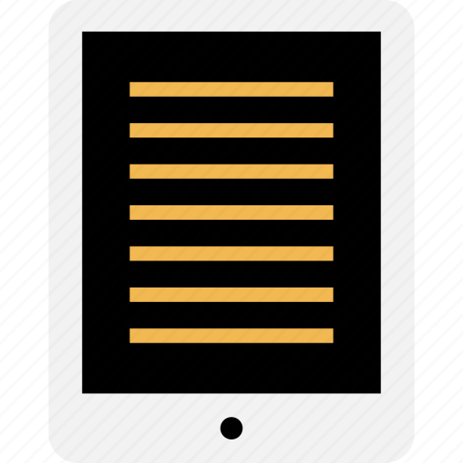 education, homework, ipad, learning, online, school icon