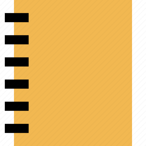education, jot, learning, note, notebook, school icon