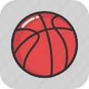 ball, basketball, game, sports, sports ball
