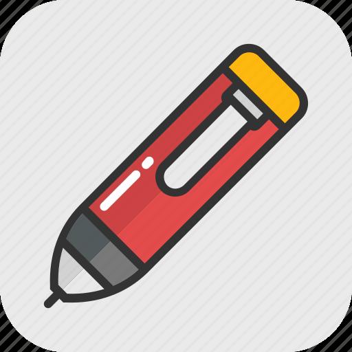 highlighter, marker, stationery, underline, write icon