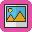 image, landscape, photo, picture, portrait icon