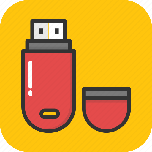 flash drive, memory, pendrive, storage, usb icon