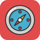 compass, gps, location, map, navigation icon