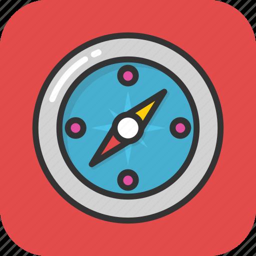 compass, gps, location, map, navigation icon