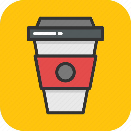 coffee, cold coffee, cup, drink, take away icon