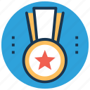 achievement, award, medal, military medal, prize icon
