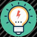 light bulb, luminaire, creativity, bright idea, inspiration icon