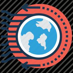 future technology, future world, futuristic, new world, planet discovery icon