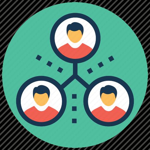 group, organization, team, team hierarchy, teamwork icon