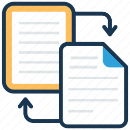 backup, data share, file exchange, file sharing, file sync icon