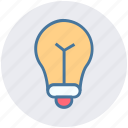 bulb, idea, lamp, light, light bulb, tips icon