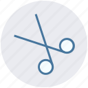 barber, cut, cutting, haircut, paper cut, scissor icon